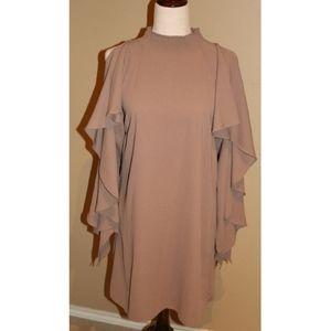 Lunik Taupe dress size medium